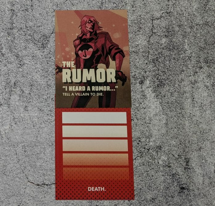 The Rumour and health bar