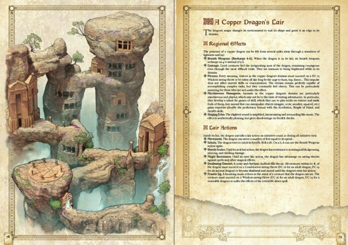 Book of Creatures layout preview