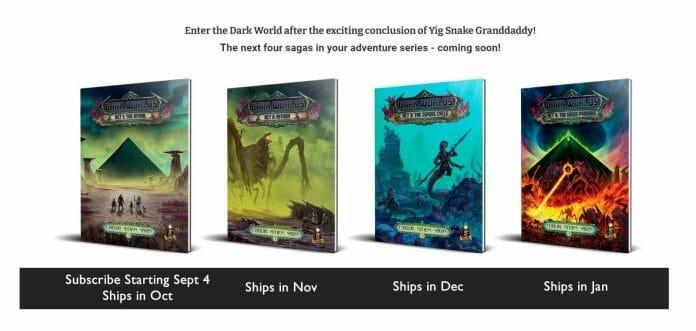 The Dark Worlds set