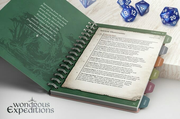 Wonderous Expeditions - Forests Pocket Companion Guide