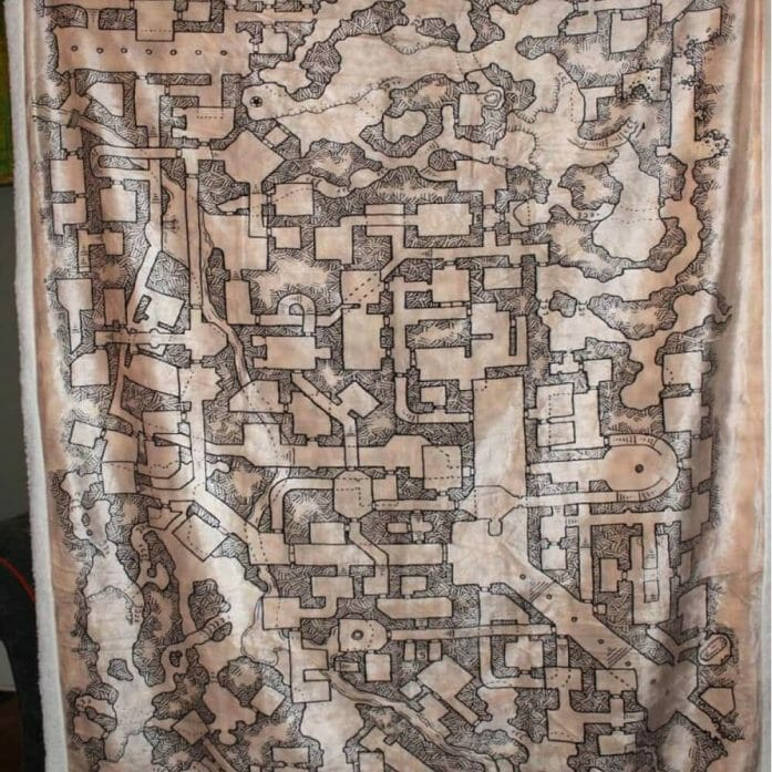 Cartography blanket