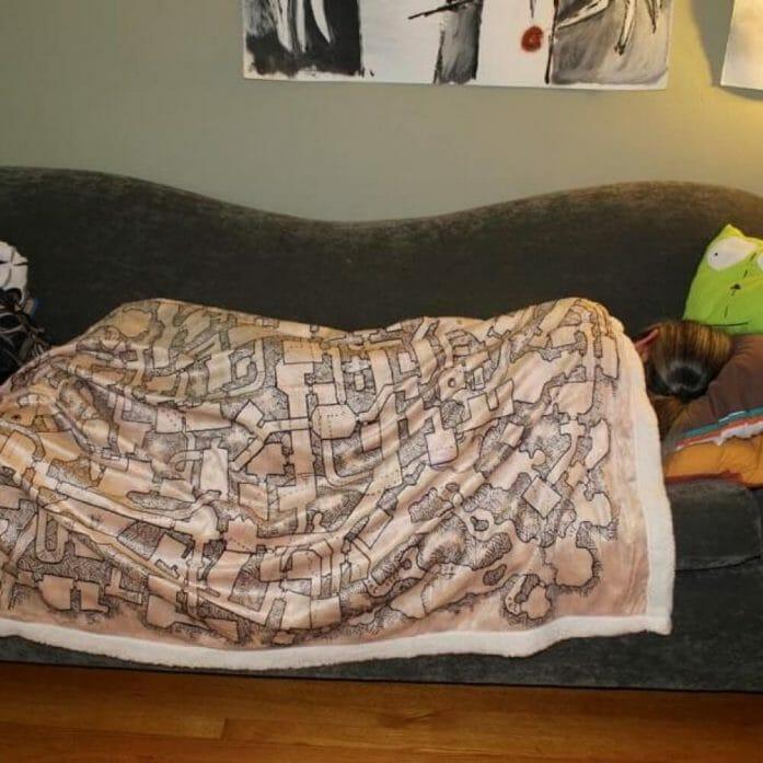 Sleepy blanket