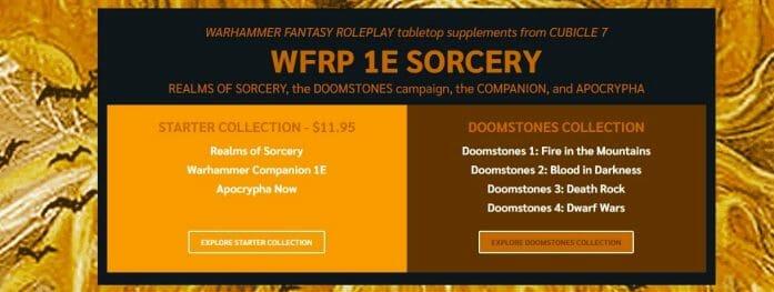 WFRP 1e Sorcery