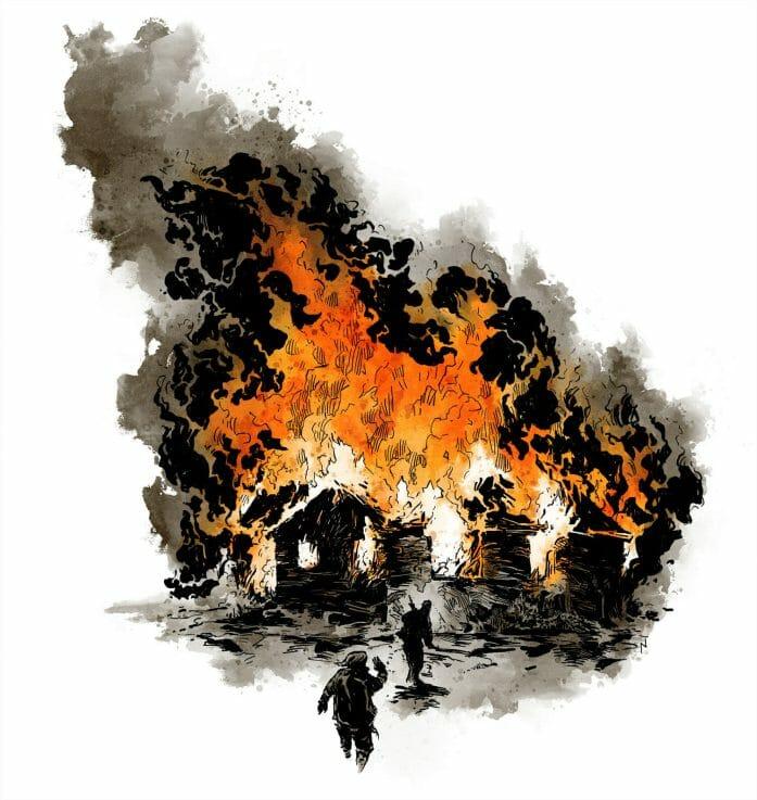 Twilight: 2000 burning