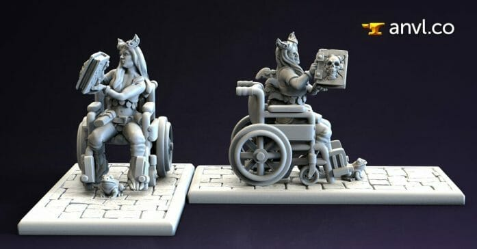 Combat wheelchair