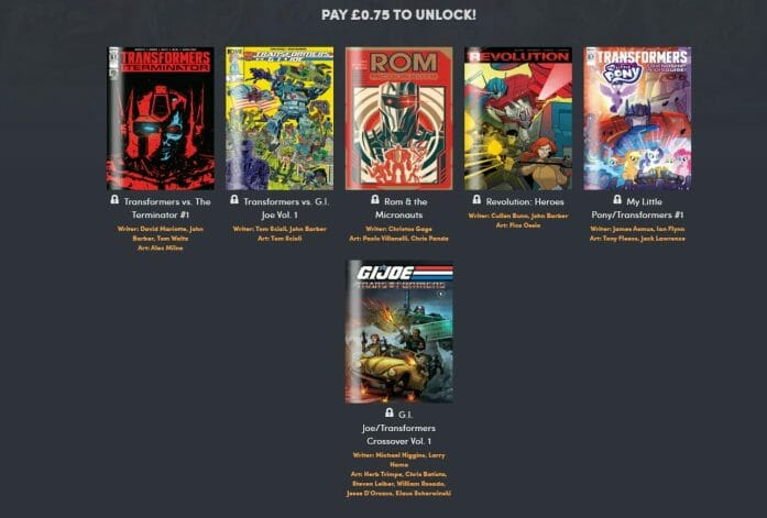 Humble Bundle comics deal