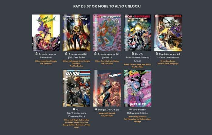 Comics deal