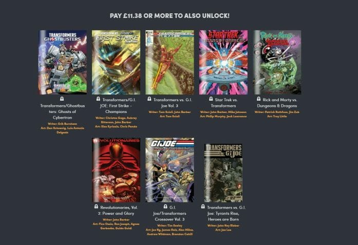 Humble Bundle and IDW