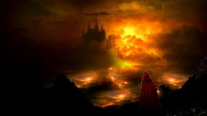 Dark Castle by FantasyArt0102