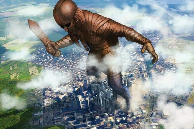 Demigod city battle