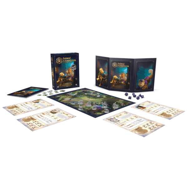 Animal Adventures from Steamforged Games
