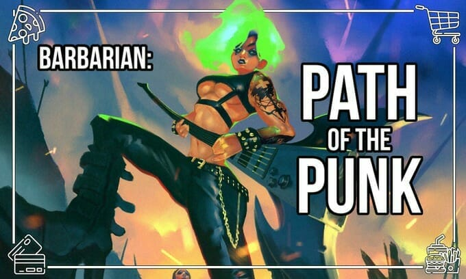 Monsters of Murka: Barbarian punks
