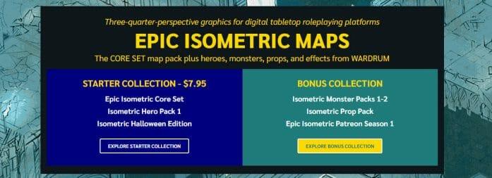Epic Isometric Maps