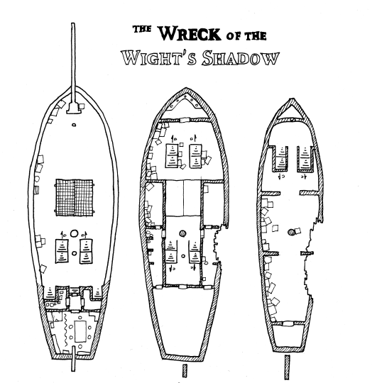 The Wreck of the Wight's Shadow