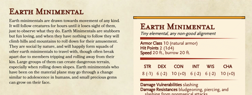 Earth Minimental preview