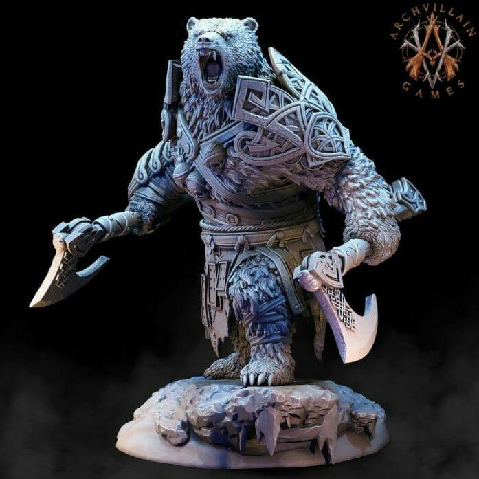 Bear Vanguard via Archvillain Games