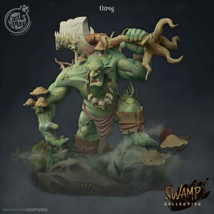 Swamp Ogre by Cast N'Play