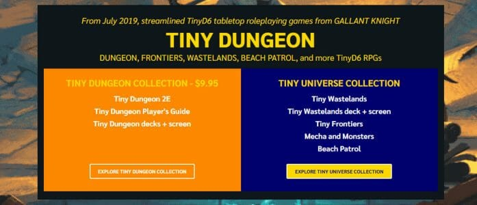 Tiny Dungeon in the Bundle of Holding