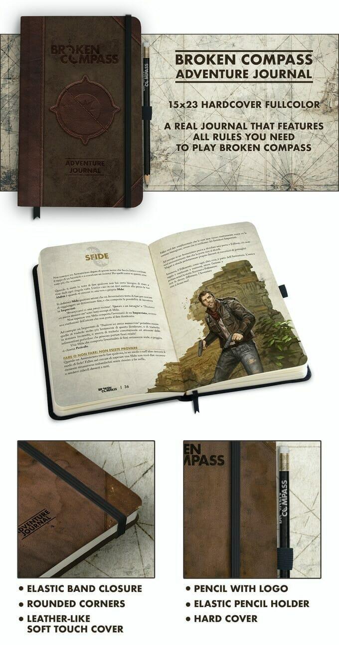Broken Compass Adventure Journal