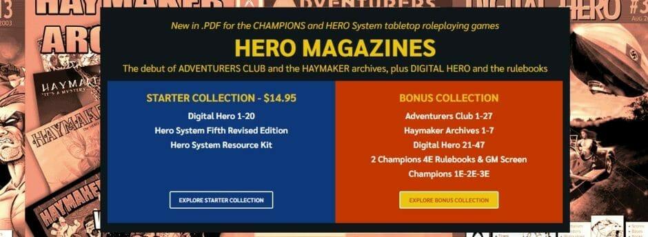 Hero Magazines