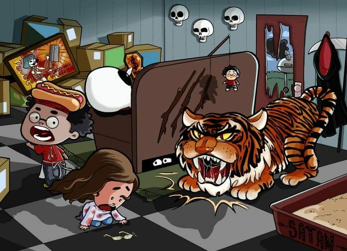Rest in Pieces tiger encounter