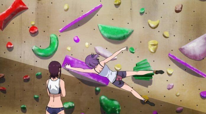 Iwakakeru -Sport Climbing Girls-