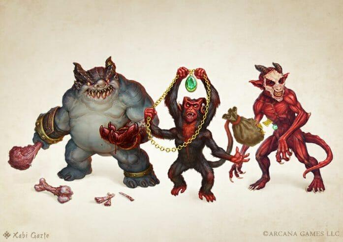 Devil Pack pets