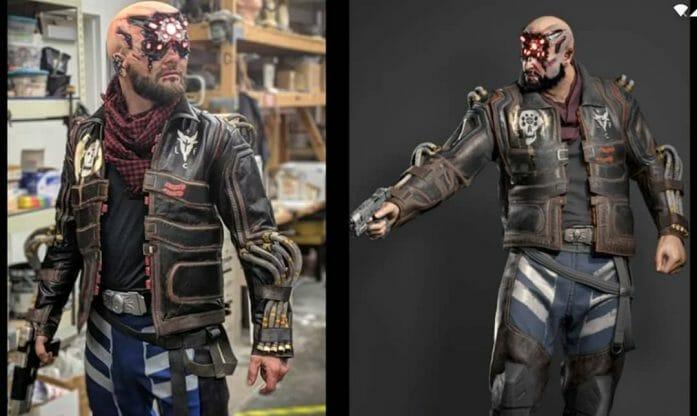 cd projekt red Cyberpunk cosplay