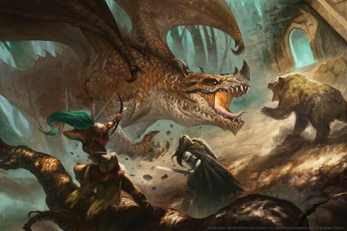 Godforsaken dragon