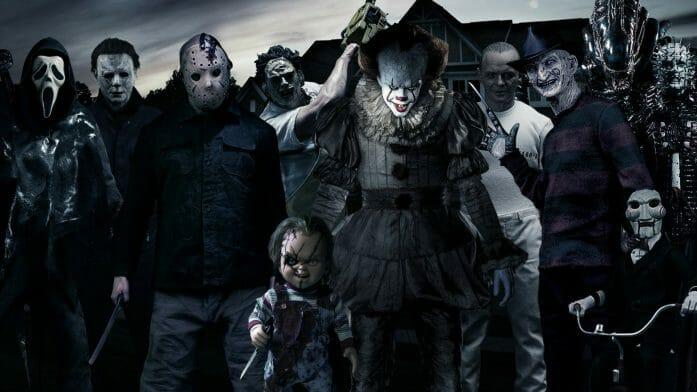 Horror Movie Villains by Daviddv1202