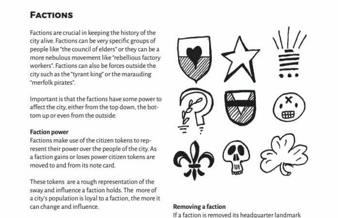 Ex Novo factions