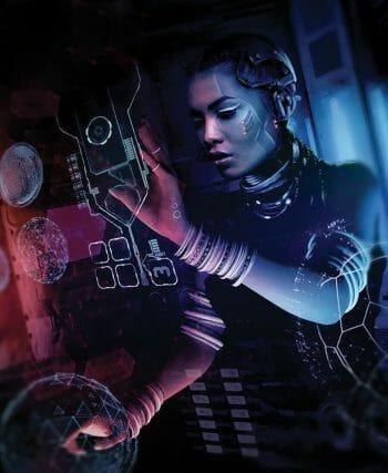Cyberpunk RED art by Neil Branquinho