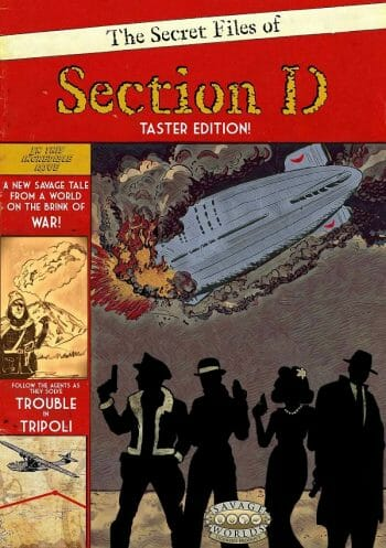 The Secret Files of Section D