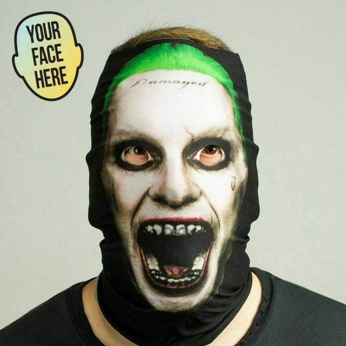 12 Masks of Halloween - stretchy face