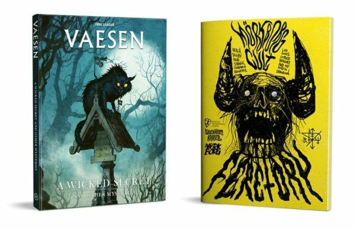 Vaesen: A Wicked Secret & Mörk Borg Cult: Feretory.