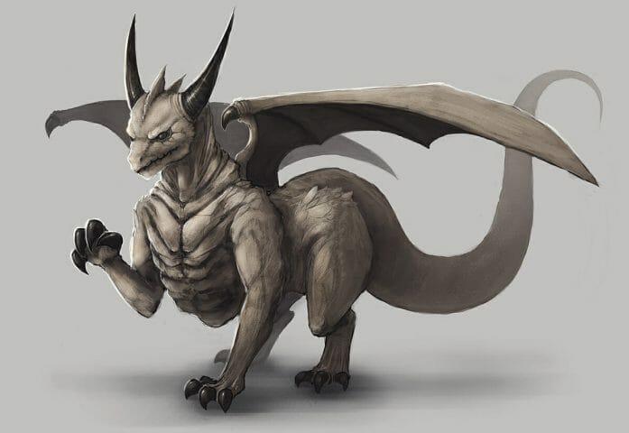 Mana Cycle - Earth Dragon by chi-u.