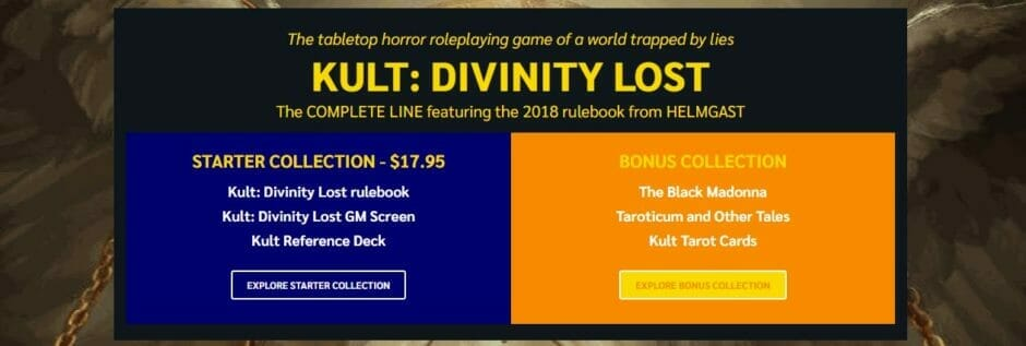 Kult: Divinity Lost of the Bundle of Holding