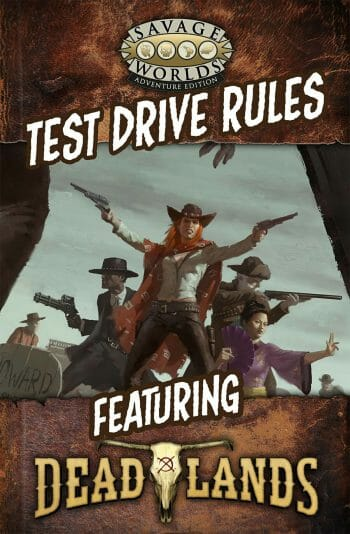 Savage Worlds Test Drive Rules