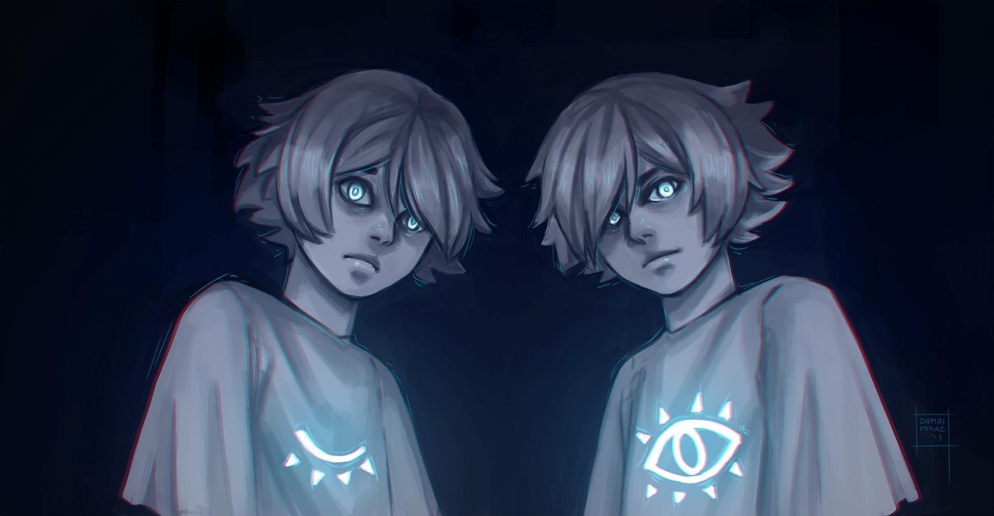 The Twins by  Damai Mikaz