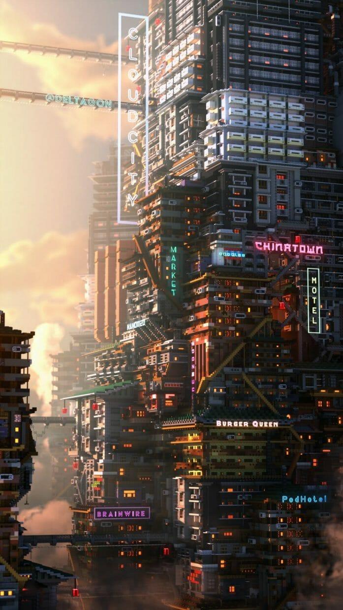 Cyberpunk Minecraft