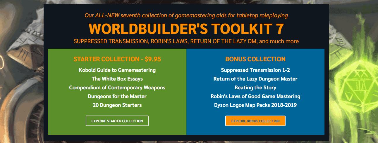 Worldbuilder's Toolkit 7