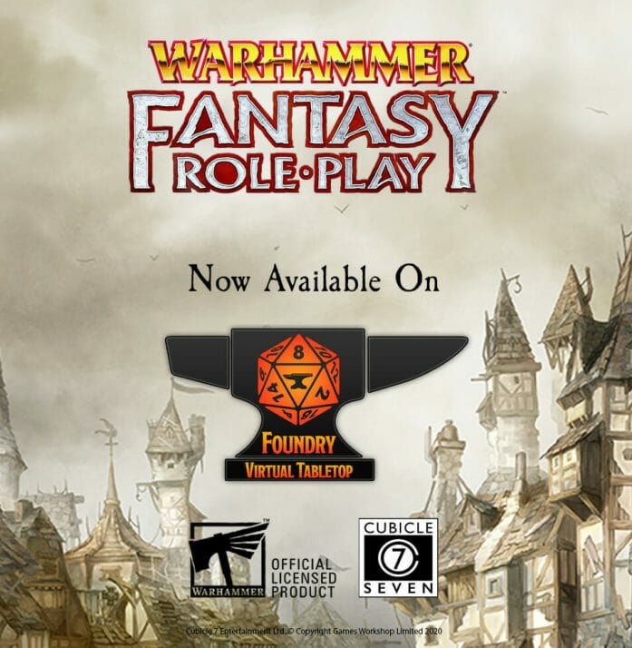 Foundry secures Warhammer FRP