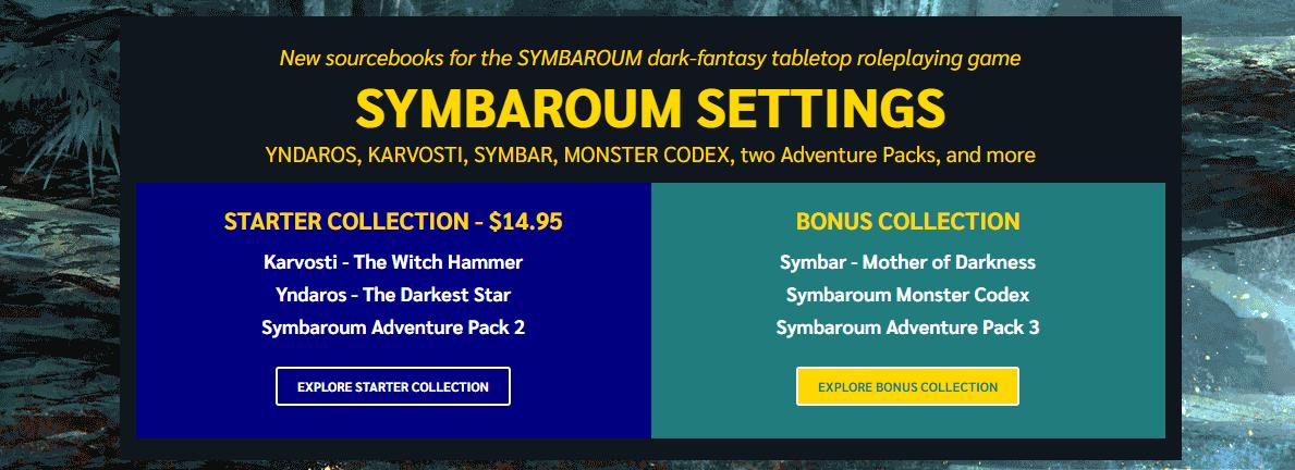 Symbaroum Settings
