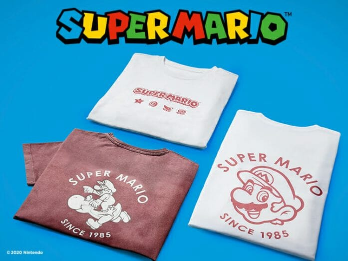 Main Super Mario Range