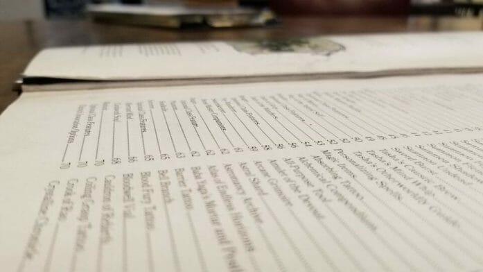 Tasha's Cauldron of Everything loose pages