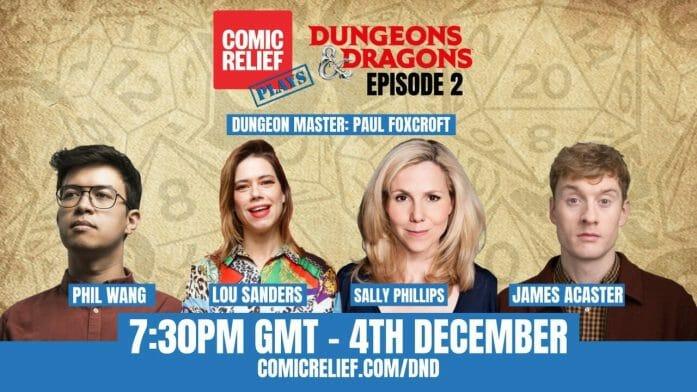 Comic Relief plays D&D again