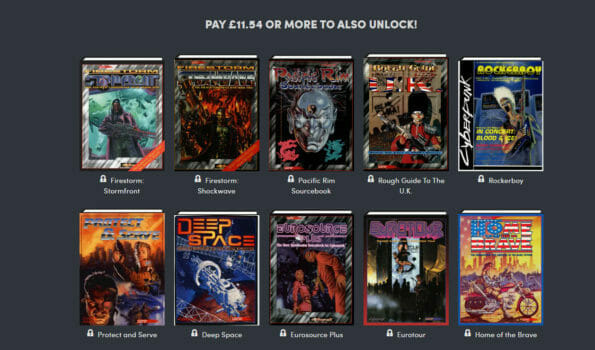 Humble Bundle: Cyberpunk