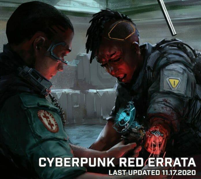 Cyberpunk Red Errata