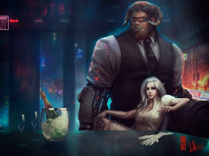 Shadowrun Characters by David Sondered