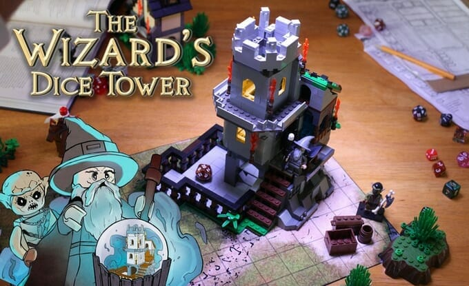 A Wizard's dice tower
